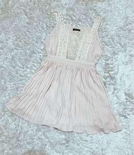 專櫃Pscompany蕾絲百褶裙洋裝