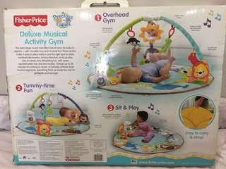 Fisher Price Deluxe Musical Activity Gym (Big)
