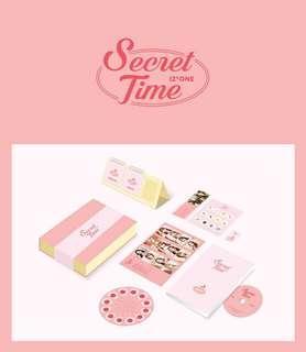 [Pre-order][3/22]IZ*ONE Photo Book Secret Time