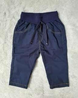 Nana cloth baby casual long pants navy