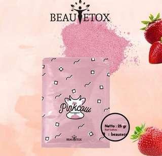 🍓Masker organic beautetox PINKCOW🍓