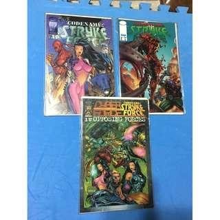 Stryke Force comics by Image