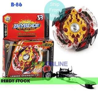 Beyblade Burst B-86 Legend Spriggan + Handle Launcher Toy