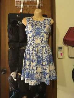 🚚 China Blue Dress