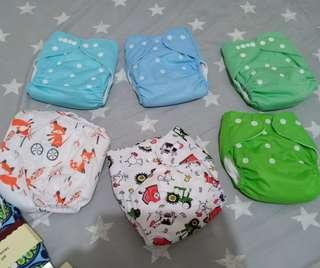 cloth diaper with insert