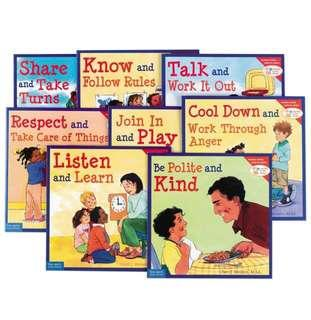 🚚 Learning to Get Along Set of 15 Books