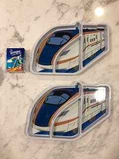 日本新幹線兒童食物盤