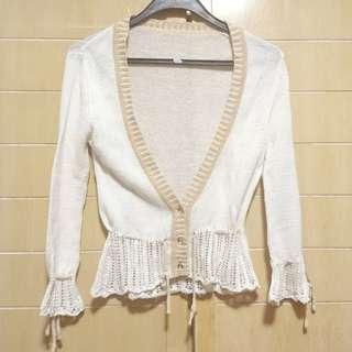 Tiffany Peplum Cardigan