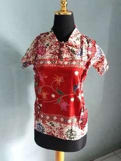 Kemeja Batik/Blouse Batik FREE ONGKIR JABODETABEK