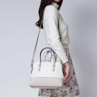 Kate Spade Bag Cedar Street Maise Shoulder Bag Crisp/Linen