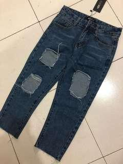 Herspot ripped jeans