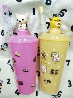 7-11拉拉熊水杯1組(2入)