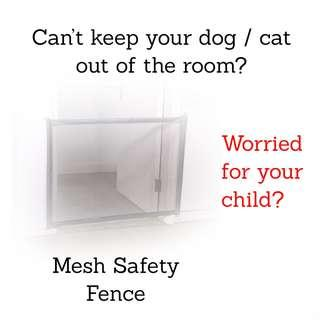 Safety Fence Pet Gate Dog Gate Mesh Cat Gate Covers Rabbit Gate Fence