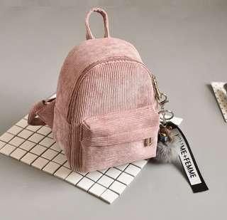 🚚 Mini backpack velvet series