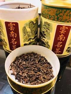 勐海宮廷散茶 75g 荷香 約15年陳茶 熟茶 普洱茶