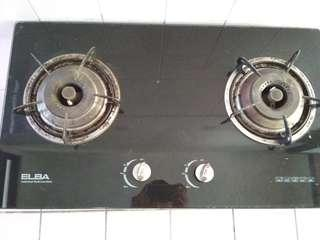 ELBA Glass Built In Gas Stove