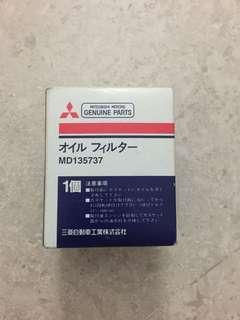 Mitsubishi Original oil filter. MD135737