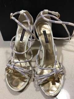 LV  high heel Sandals 女神鞋