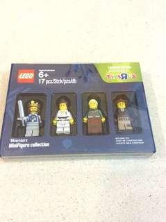 Lego bricktober 2016 5004422 warriors collection