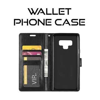 Note 9 Wallet Phone Case Casing Cover Protector