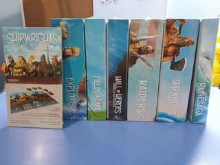 The North Sea Trilogy + Expansions