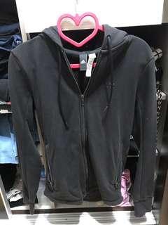 黑色正版adidas外套