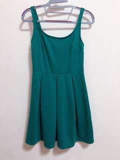Nichii Green Dress