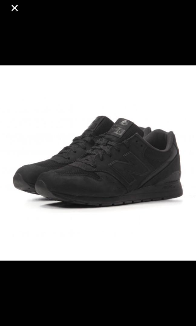 wholesale dealer 1e4e6 754c0 39 New Balance 996 Black Size 7  EU 40, Men s Fashion, Footwear ...