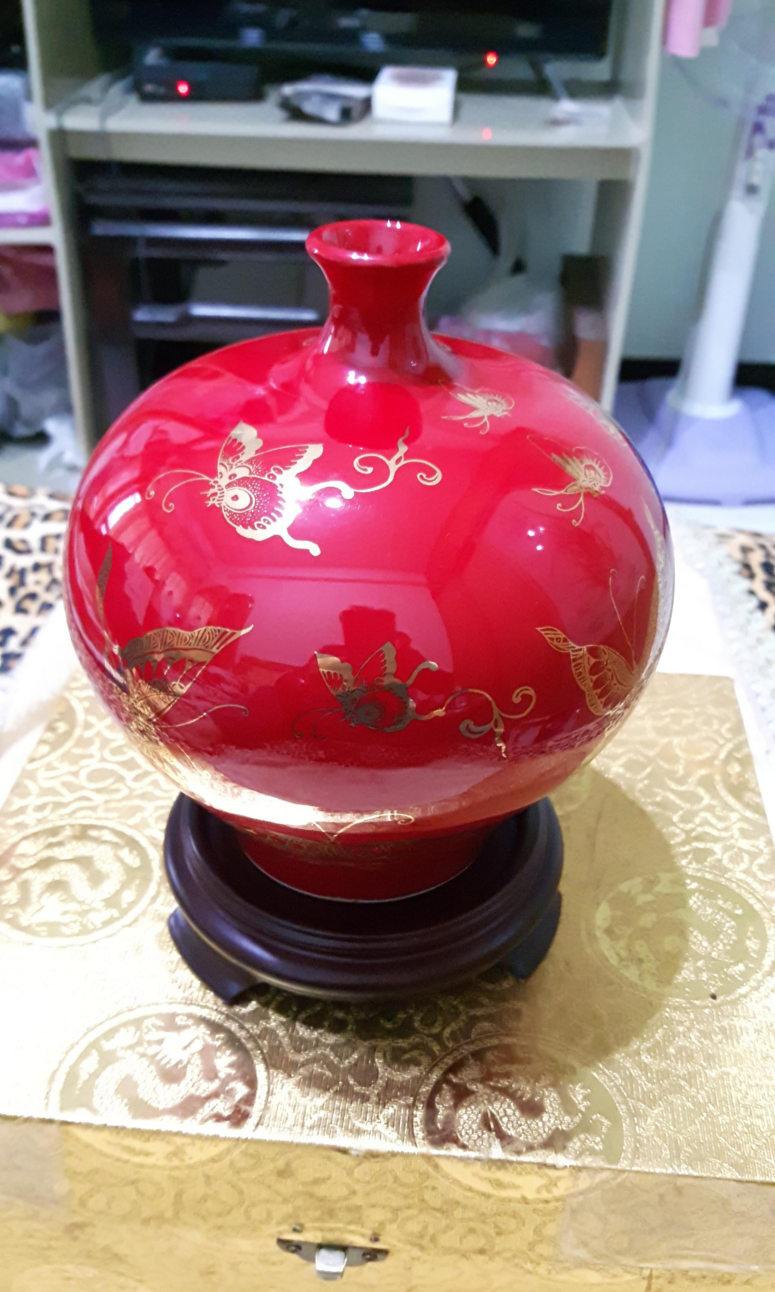 台華窯 花瓶