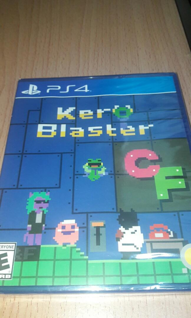 限量版 全新 PS4 Limited Run Game ~ Kero Blaster