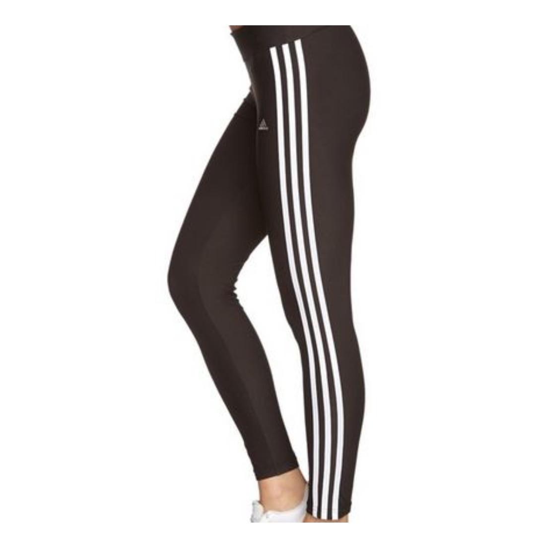 e1c965262de305 Adidas Climalite Three Stripes Leggings, Women's Fashion, Clothes, Pants,  Jeans & Shorts on Carousell