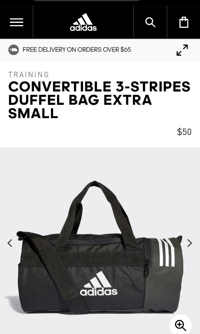 25c08a0623d Adidas Duffle Bag XS