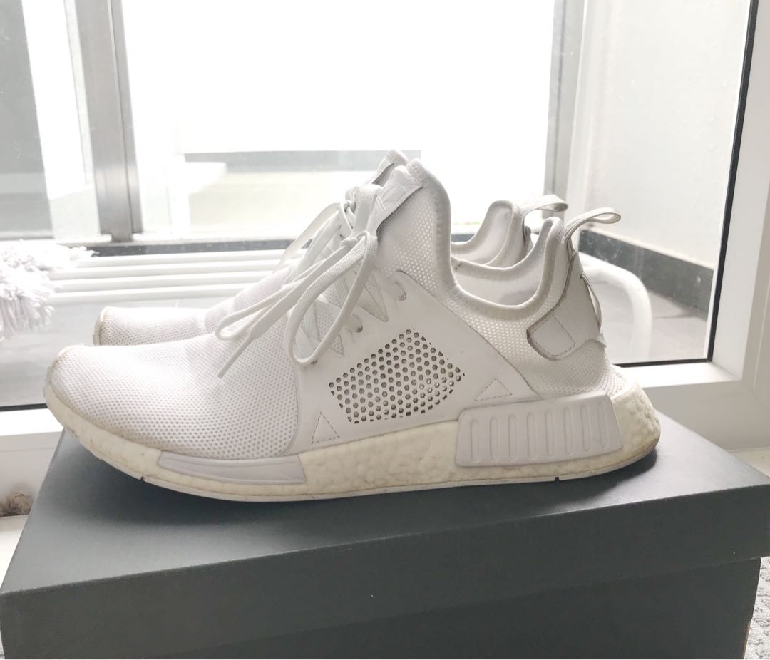 bb6b7175f Adidas NMD XR1 - White 99% new