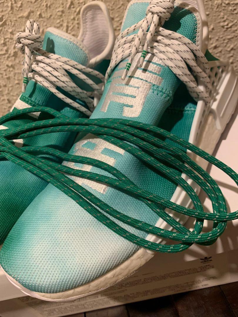 499cd727e Adidas Pharrell NMD HU China Exclusive Pack Youth Green