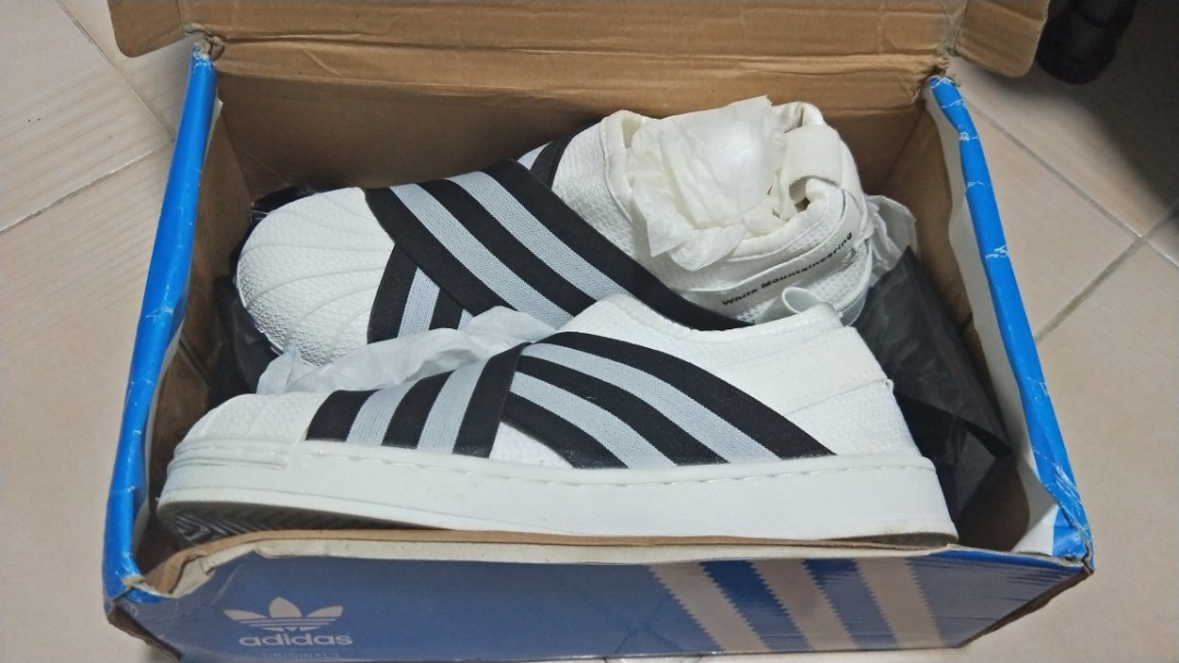 new styles ce016 7e9cb Adidas superstar slip on size 38 white, Women's Fashion ...