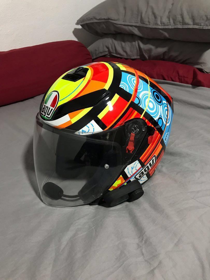 Agv K5 Jet Element Motorcycles Motorcycle Apparel On Carousell