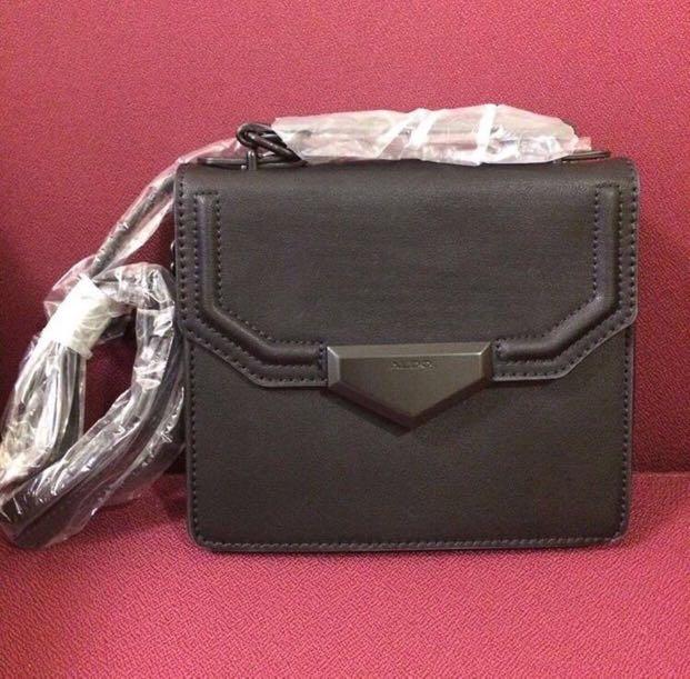 c6a1ed196ac Aldo Black Sling Bag