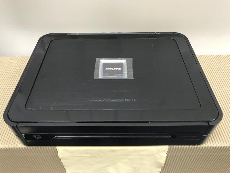ALPINE PDX-F6 4-channel Power Amplifier