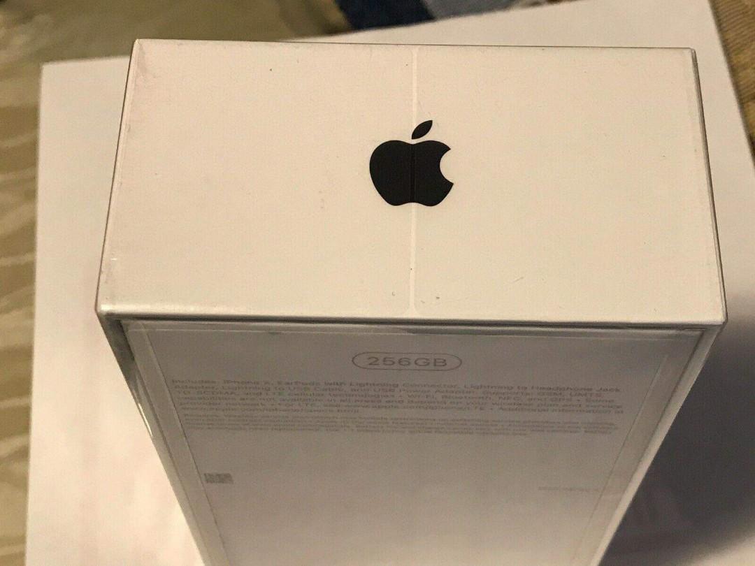 Apple iPhone X 256GB Space Grey (Unlocked)(AU Stock)