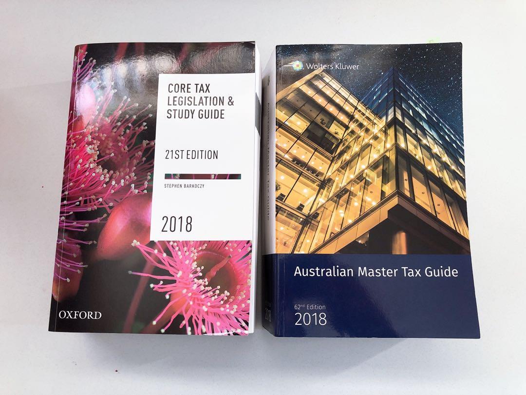 Australian master tax guide & core tax legislation