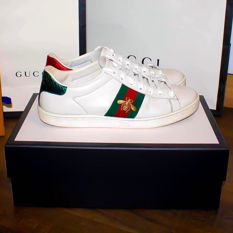 1bc31419c Authentic Gucci ace bee sneakers for sale, Men's Fashion, Footwear ...