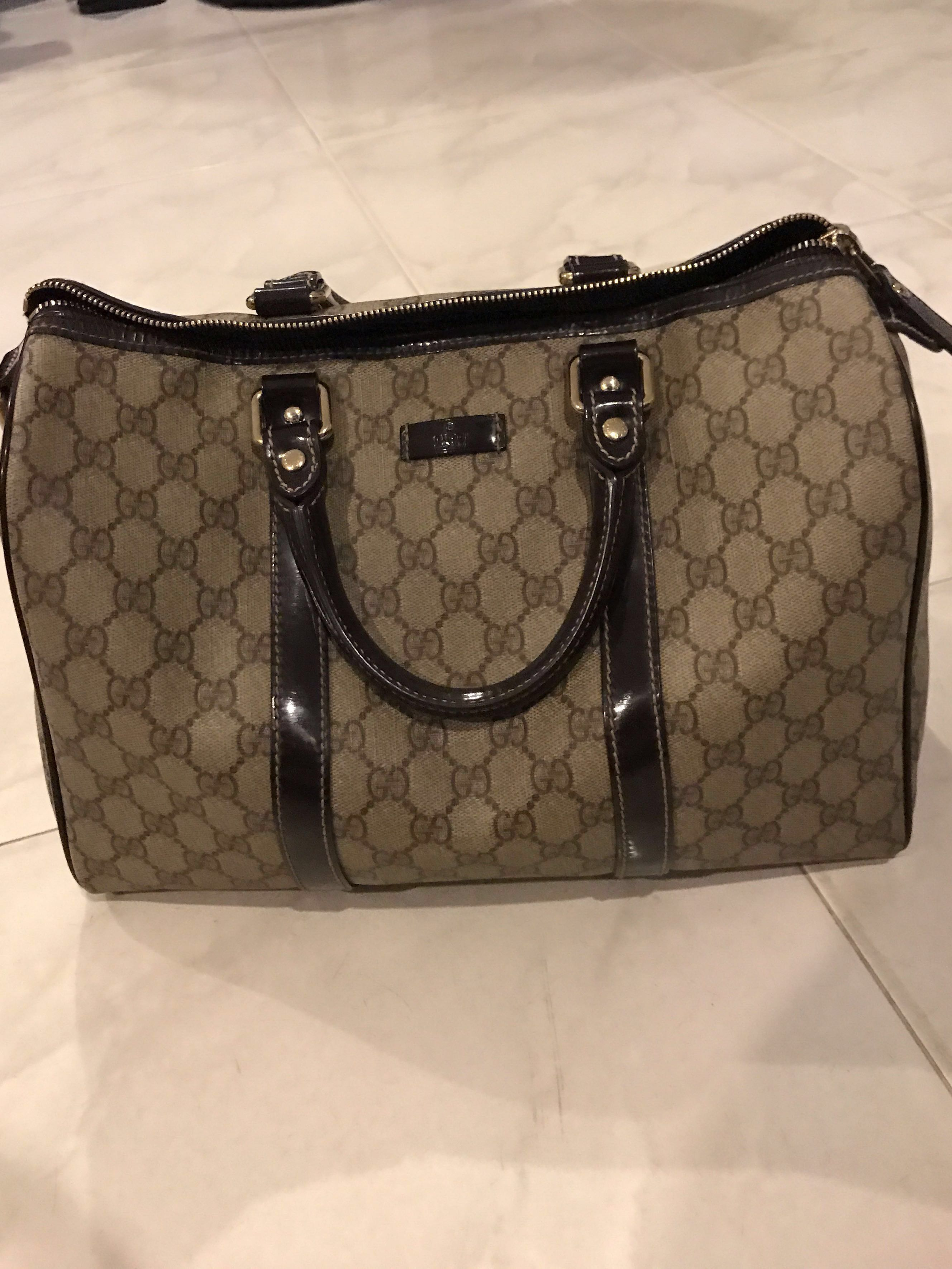 f428bdcae AUTHENTIC Gucci Joy Boston bag (Reduced), Luxury, Bags & Wallets ...