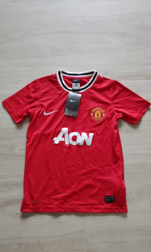 d060b4e4cab ☆Authentic☆ Nike Manchester United Kid Jersey