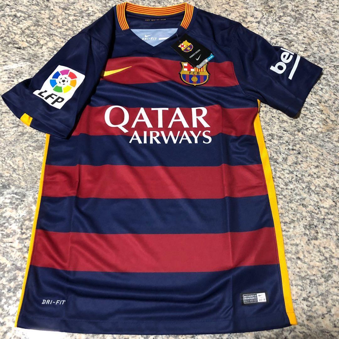 26b4cb7d7 Barcelona FC 2016 17 La Liga Jersey