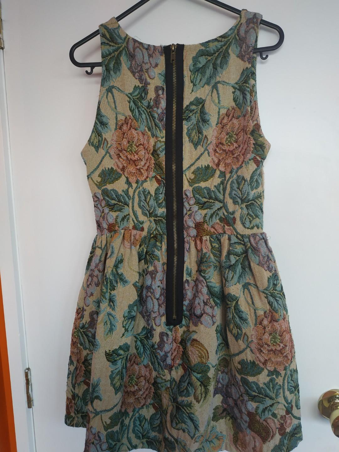 Beautiful Vintage Patterned Dress