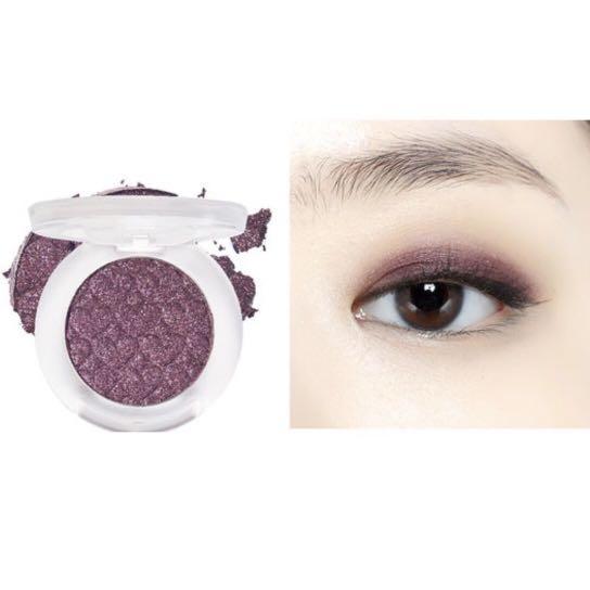BN etude house look at my eyes purple eyeshadow
