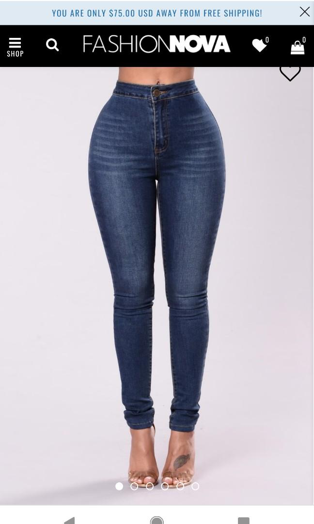 BNWT Fashionnova jeans size 7