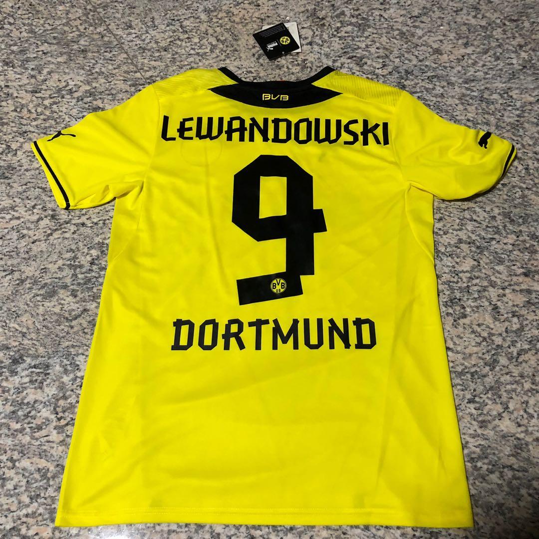 new product e1823 5c4f5 Borussia Dortmund Lewandowski Jersey