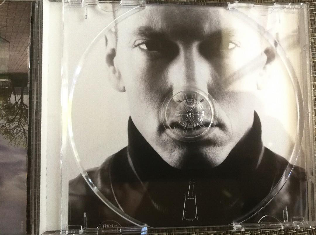 Brand New Eminem Recovery Album with Balloon CD envelope