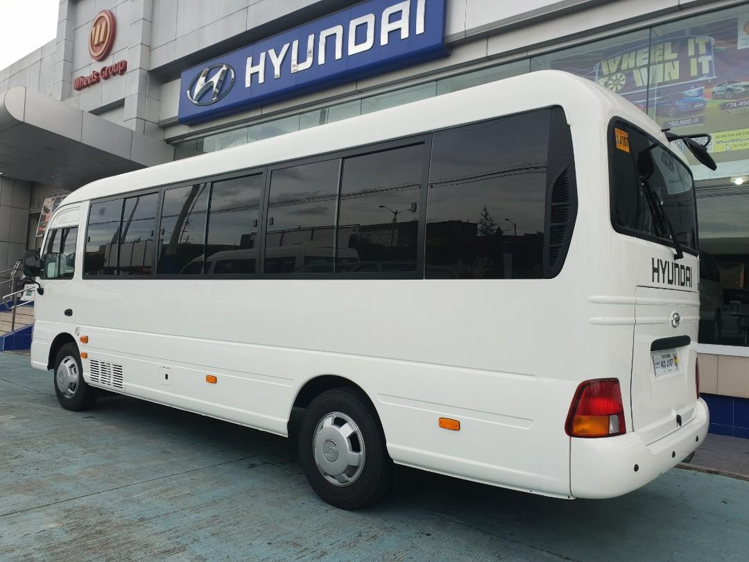 Brand New Hyundai County Euro 4 2019 model ONHAND UNITS